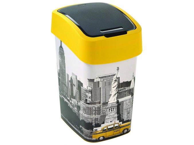 Koš odpadkový Curver FLIPBIN 25l NEW YORK (Velikost 40)