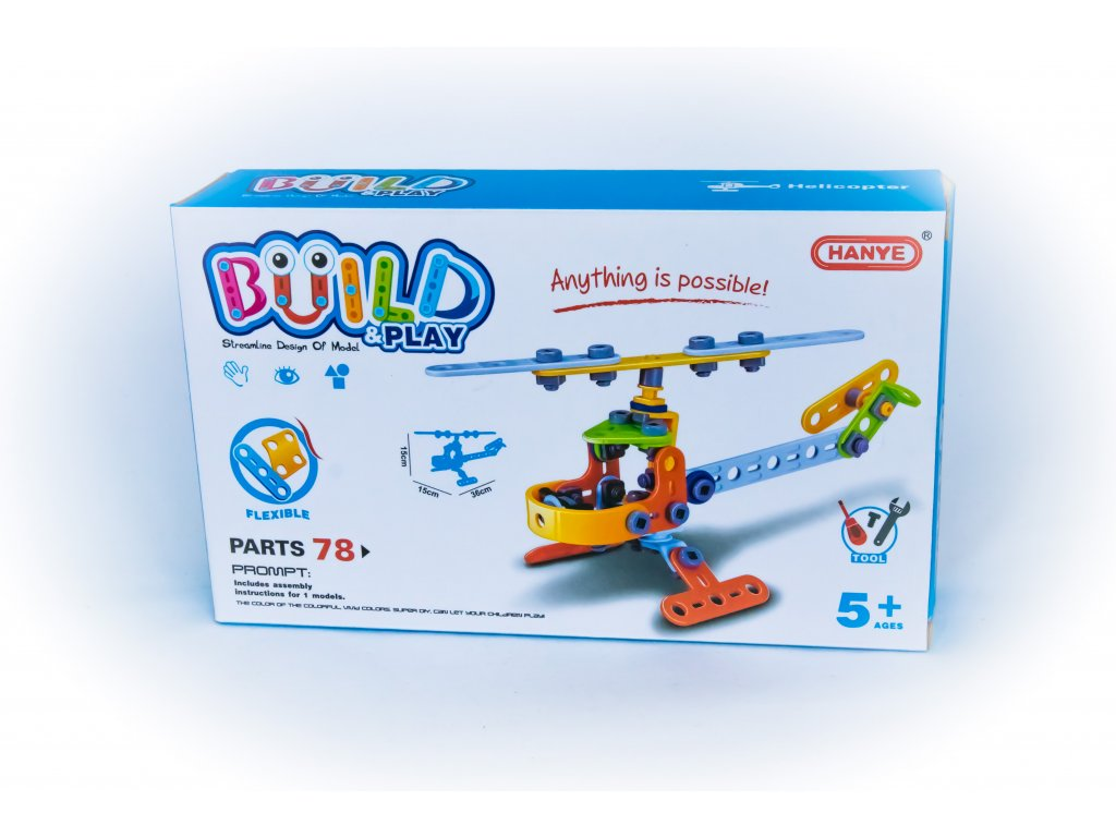 Build and play - vrtulník