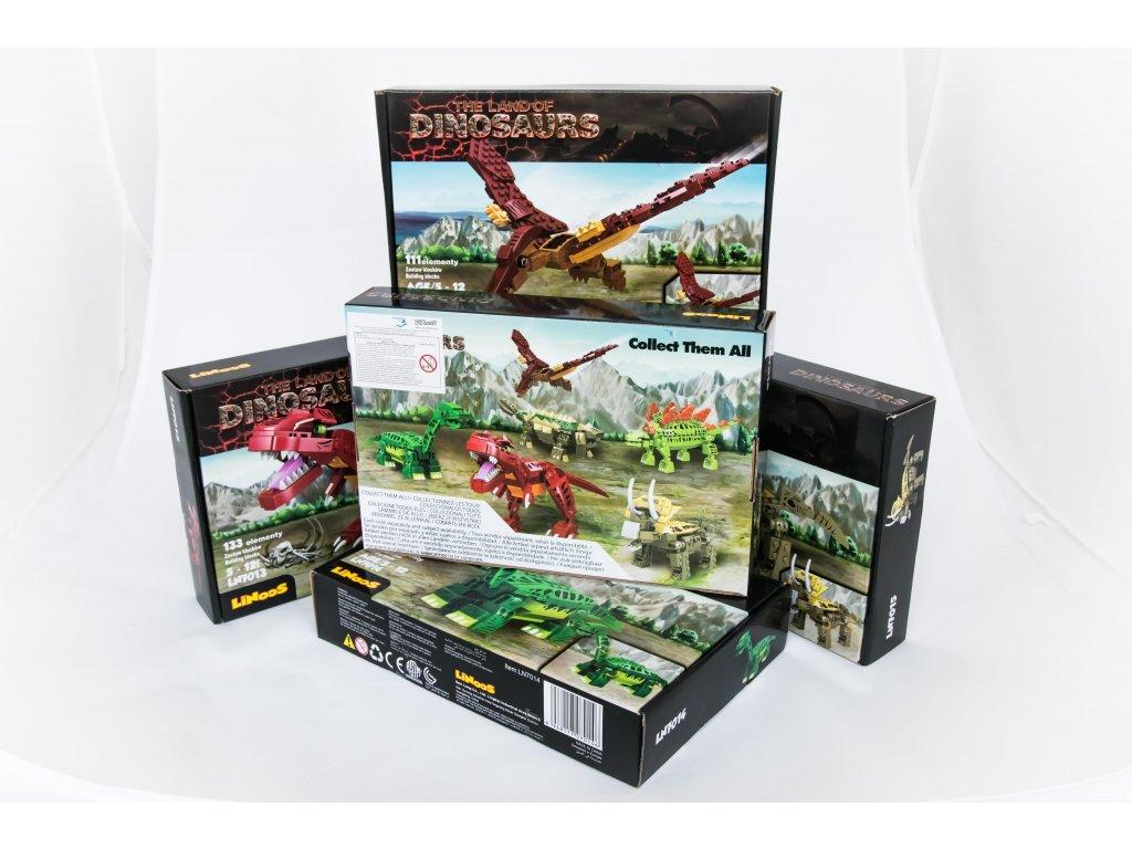 Dinosauři - různé druhy