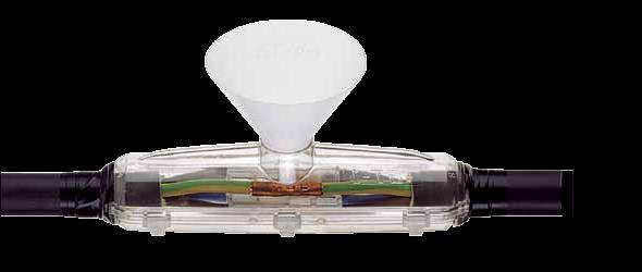 Kabelové spojky zalévací gelové