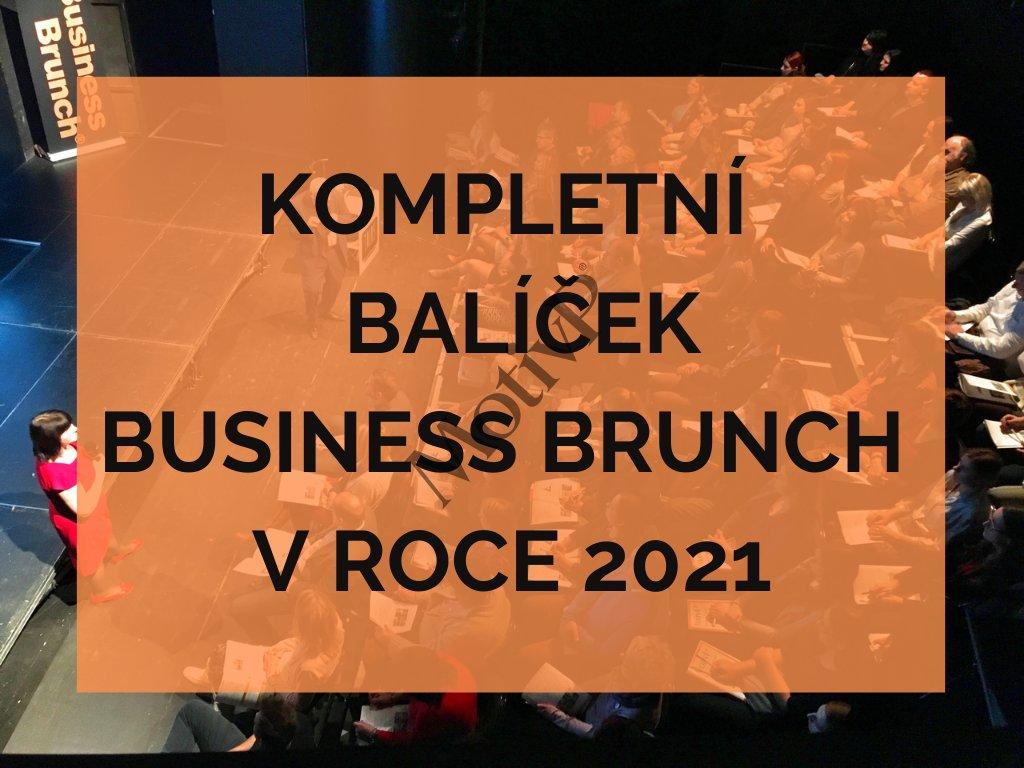 Kompletní balíček Business Brunch v roce 2021
