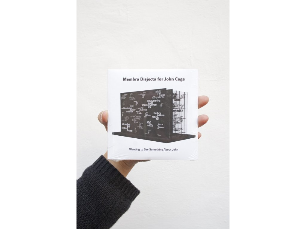 2693 membra disjecta for john cage wanting to say something about john cd