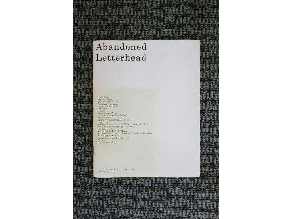 3884 5 abandoned letterhead