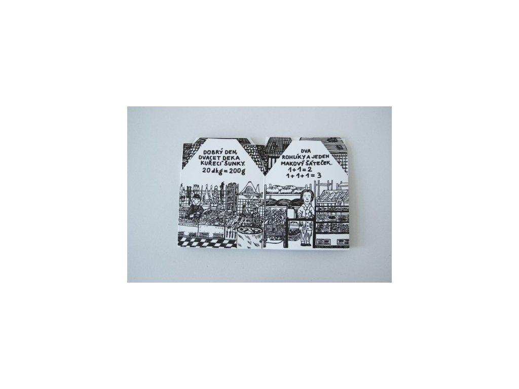 3968 alzbeta zemanova domky skladaci omalovanka