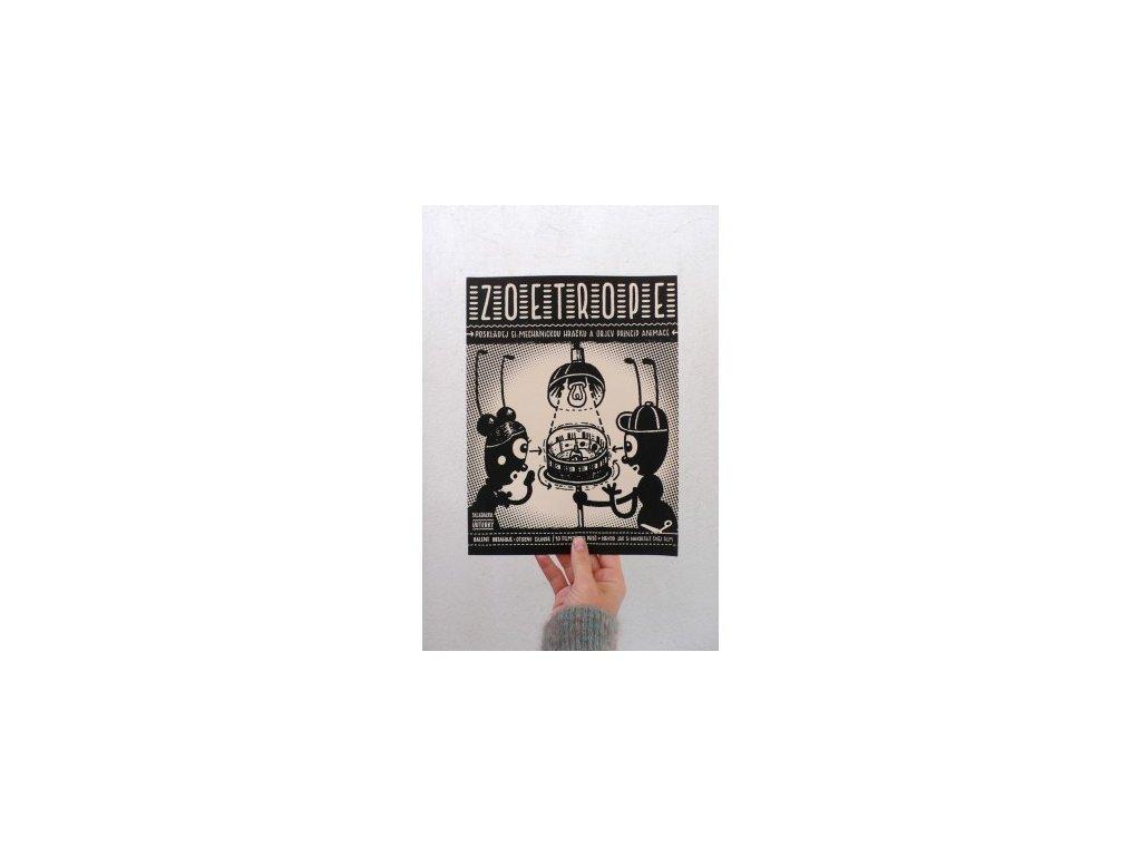 5060 zoetrope sitotiskova papirova vystrihovanka