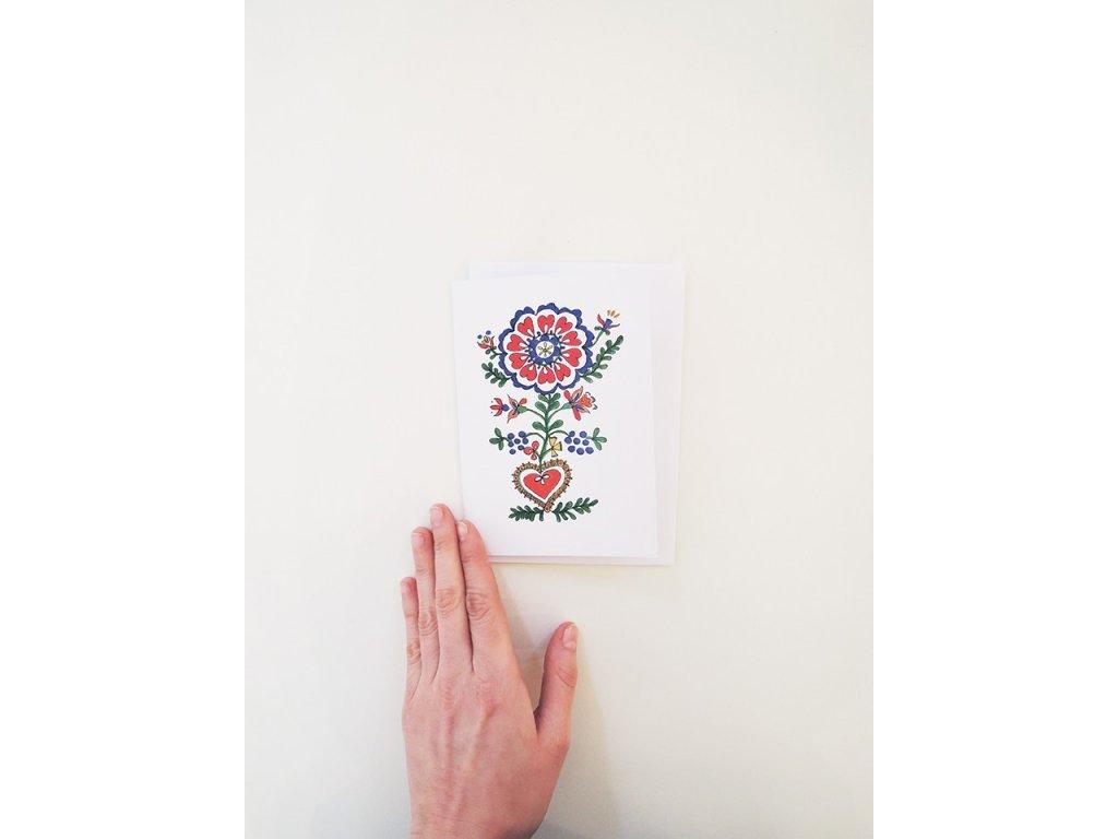 7547 pohled moravian rose