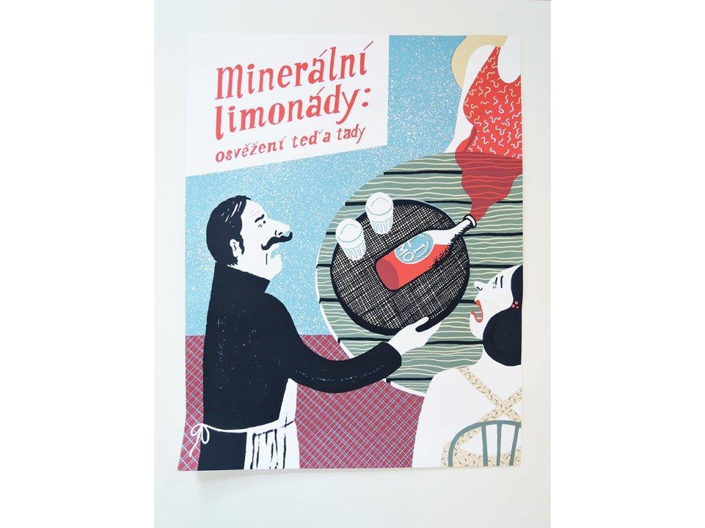 7949 plakat beziliska mineralni limonady b2