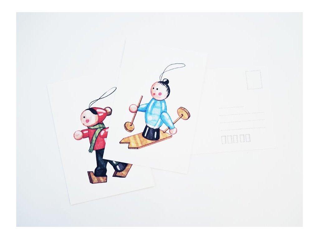11795 vanocni pohlednice katerina kynclova