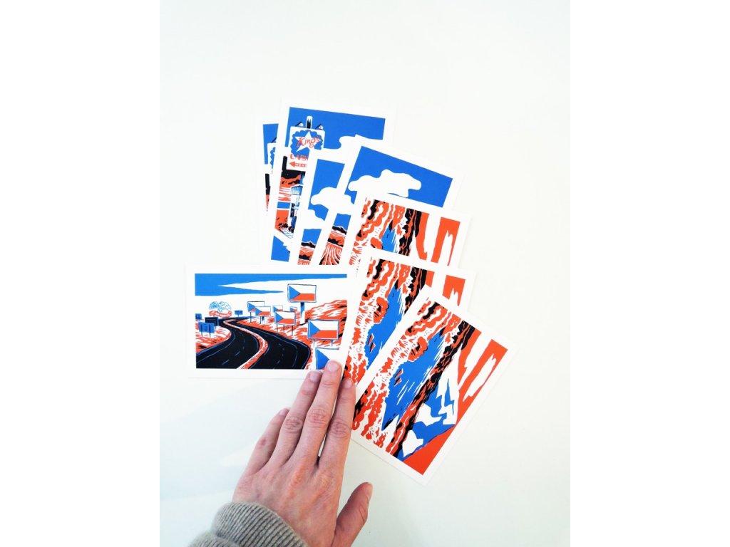 14444 ustava pohlednice