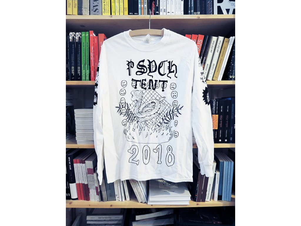 14783 tricko psych tent vi long sleeve m stoned to death records