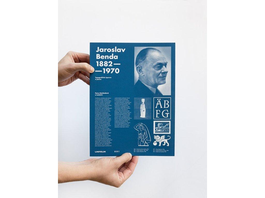 15953 jaroslav benda 1882 1970 typograficka uprava a pismo petra docekalova a kolektiv