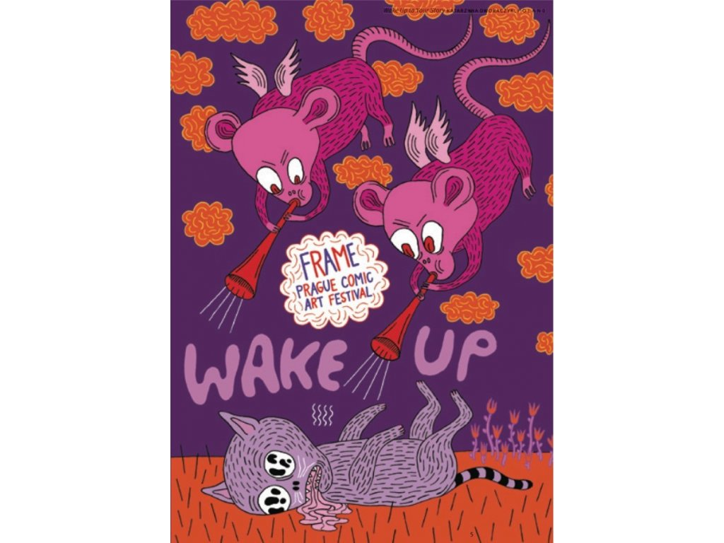 16532 wake up frame prague comics art festival 2017