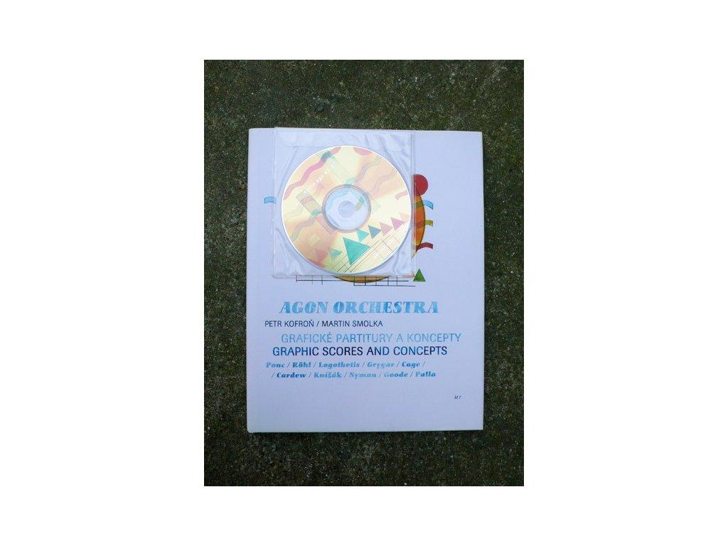 16982 agon orchestra graficke partitury a koncepty graphic scores and concepts cd petr kofron martin smolka