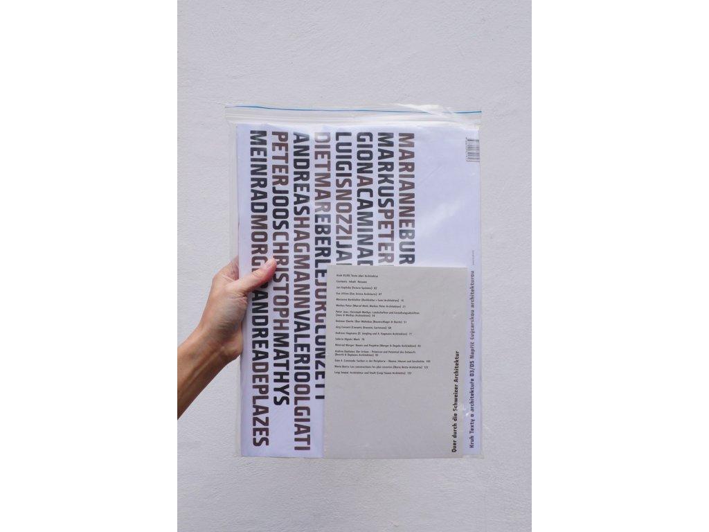 17000 3 texty o architekture 03 05 napric svycarskou architekturou cyril riha ed marcela steinbachova ed