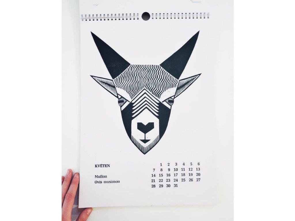 17363 kalendar 2018 animalie