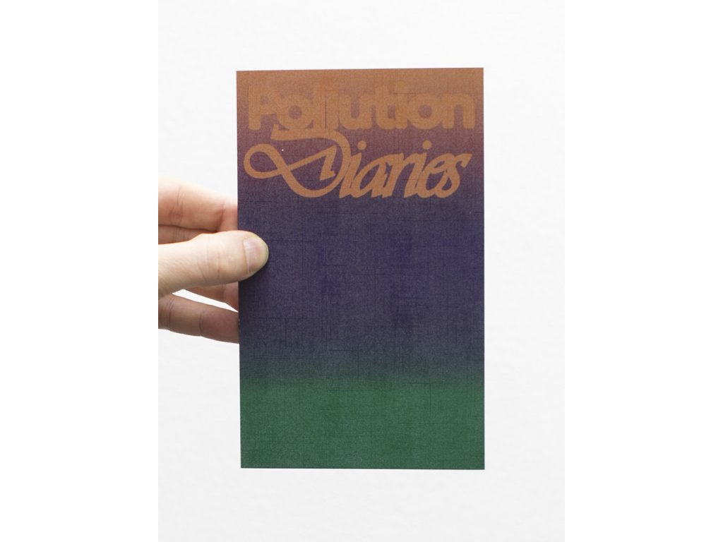 pollution diaries cover