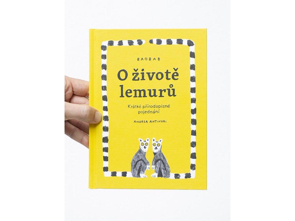 o zivote lemuru cover