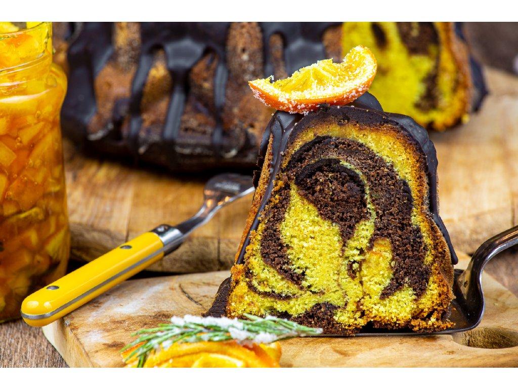 Babovka s pomerancem a cokoladou