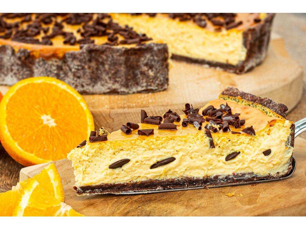 Pomerancovy s tvarohem a cokoladou