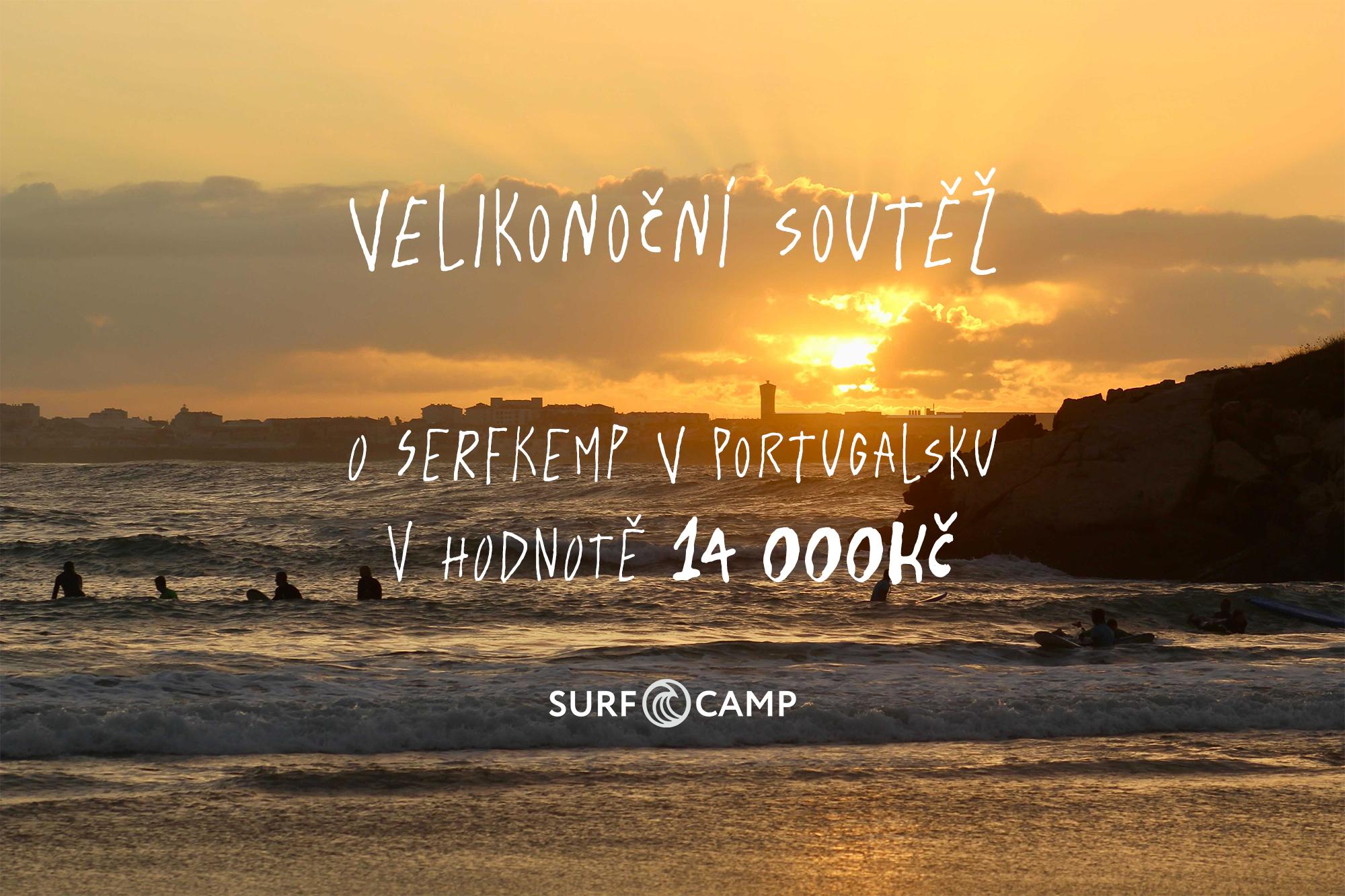 Velká velikonoční soutěž o surfcamp v Portugalsku