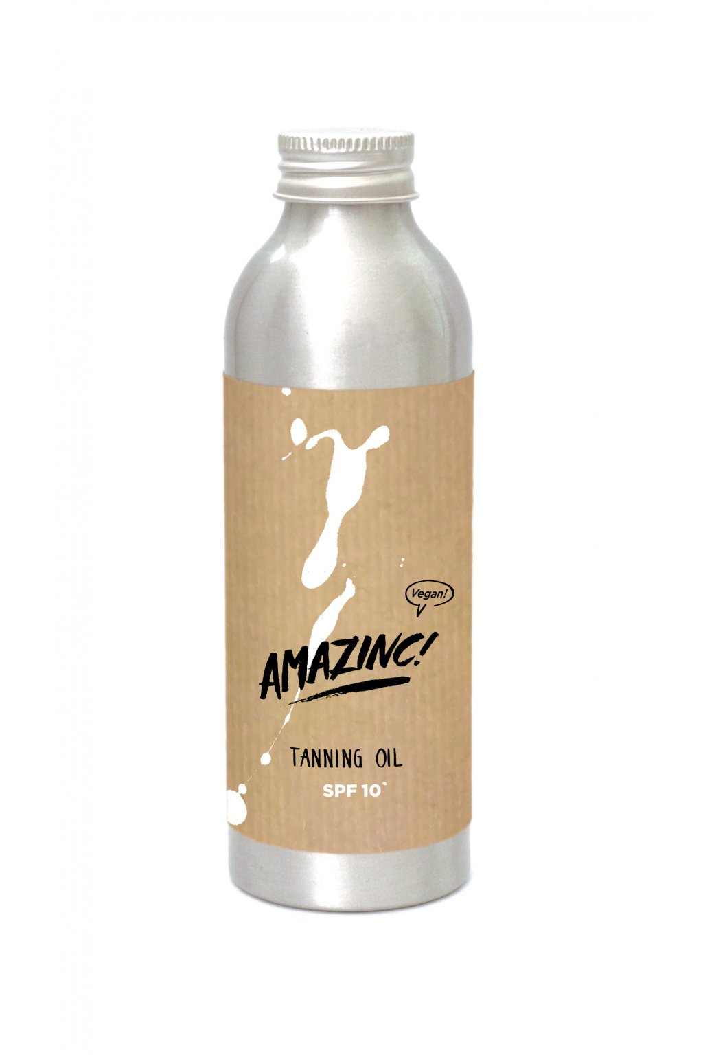 11 TanningOil Packaging Mockup Alu Bottle 150ml