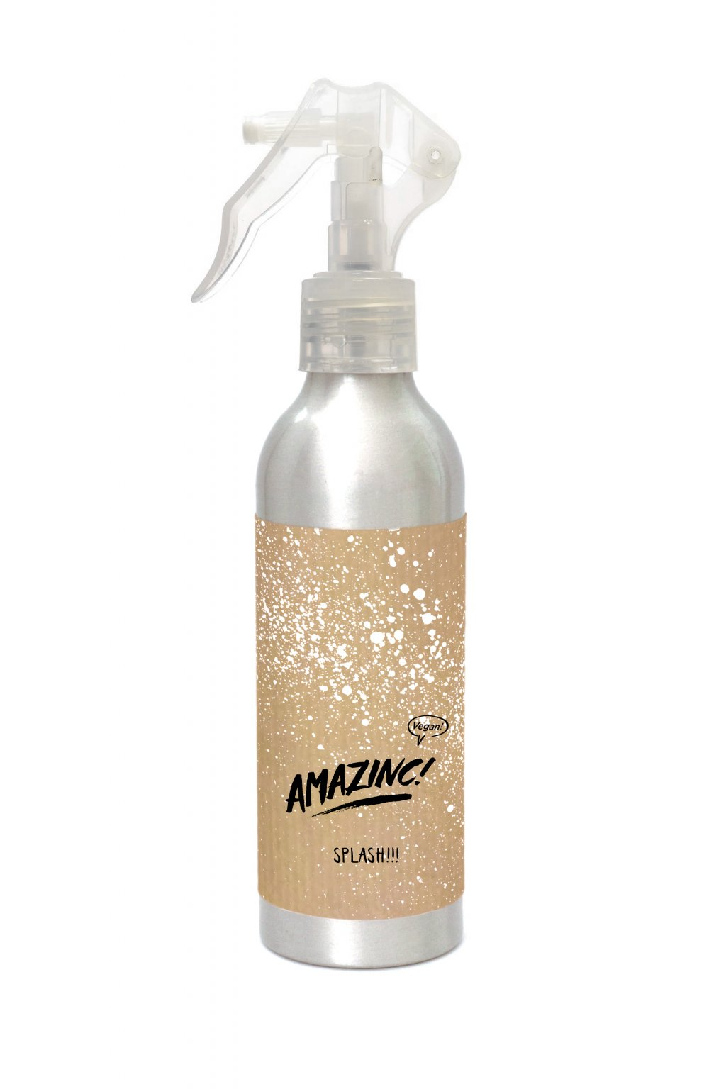 10 Splash Packaging Mockup Alu Bottle 150ml