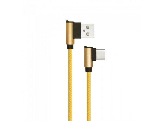 10094 1m type c usb kabel gold diamond series
