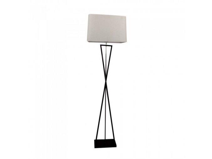 10316 designer boden lampe e27 elfenbein quadratisch lampenschirm schwarz metall uberdachungsschalter