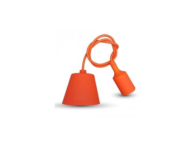 1214 e27 hangelampe fassung orange