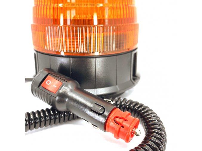 2063 led leuchte mit magneten 16x3w 12 24 orange