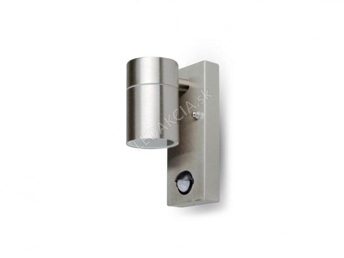 2351 wandmontage gu10 mit sensor stahl gehause 1 weg ip44