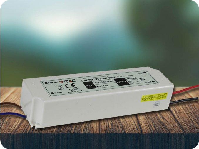3401 led kunststoff slim netzteil 100w ip67 12v