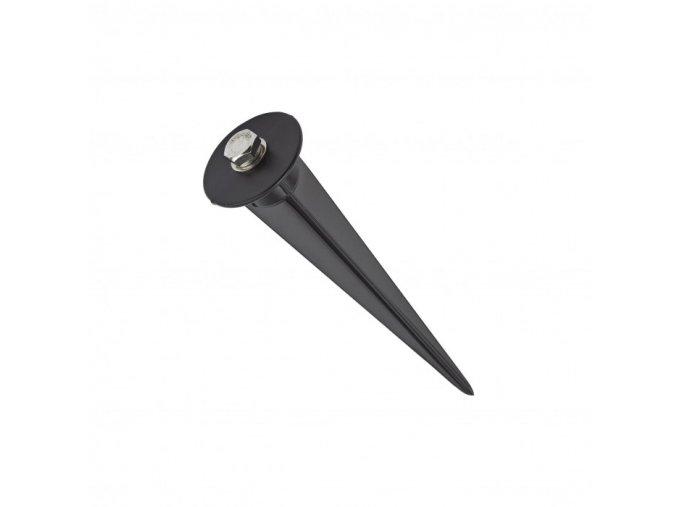 3938 scheinwerfer flutlicht spitze spie schwarz d60 h265