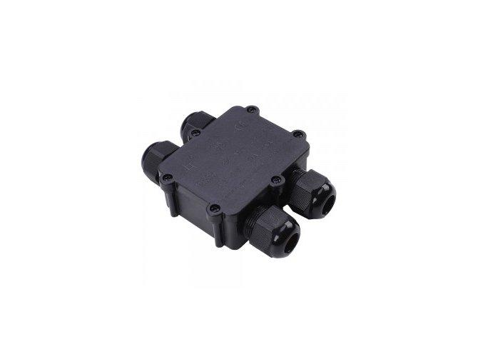 4196 wasserdicht schwarz 4 pin klemmleiste 8 12mm ip68