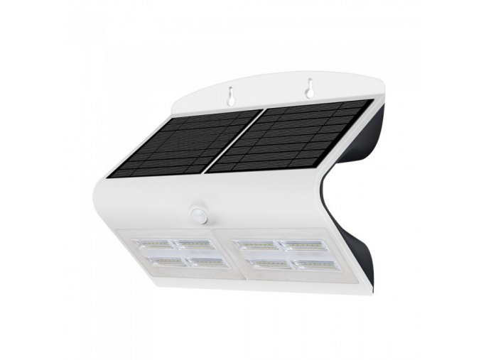 6287 6 8w led solar wand lampe schwarz gehause