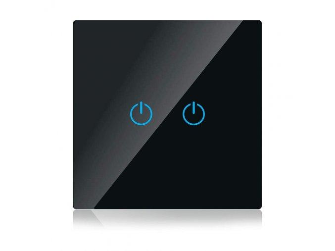 6695 wifi beruhrung 2 weg schalter amazon alexa google home kompatibel schwarz