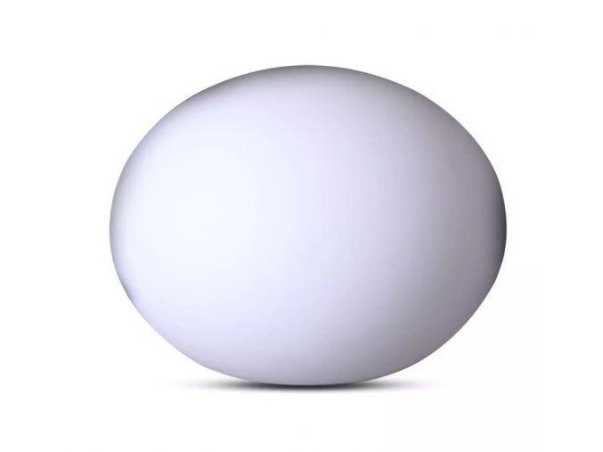 8732 led ovale kugel lampe rgb 20 14cm