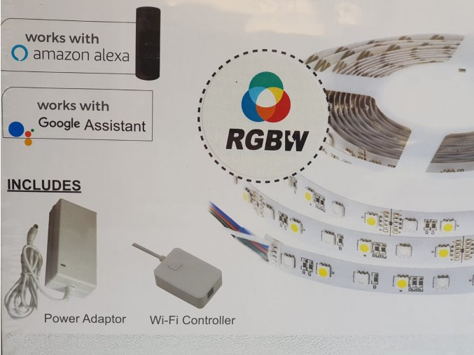 9239 led streifen set 10w rgb ip20 alexa google home kompatibel