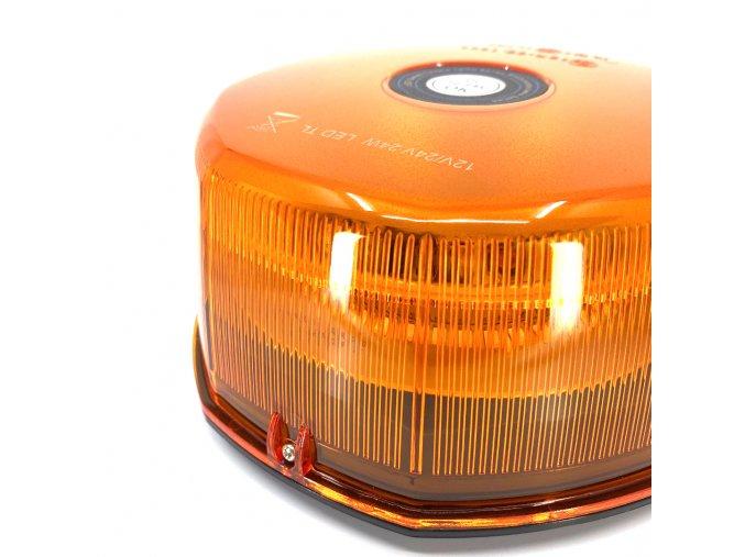 9629 2 led warnlampe dach leuchtfeuer 24w 12 24v orange