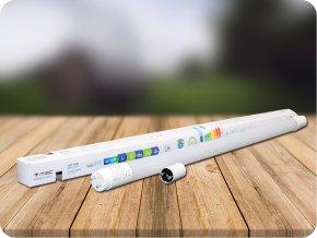 LED Röhre T8 10W - 60 cm Thermo-Kunststoff Drehend (Lichtfarbe Kaltweiß)