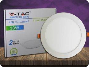 LED-Panel 18W, rund (1500lm) (Lichtfarbe Kaltweiß)