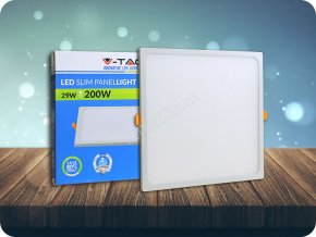 29W LED Rahmenlos Panel Light Quadratisch (Lichtfarbe Kaltweiß)