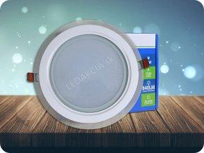 LED Panel 6W, Glas, 420lm (Lichtfarbe Neutralweiß)