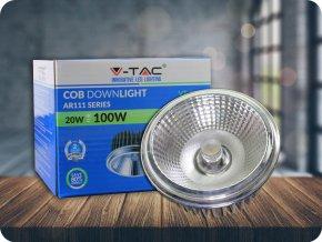LED Strahler G53 AR111  20'D (Lichtfarbe Kaltweiß)