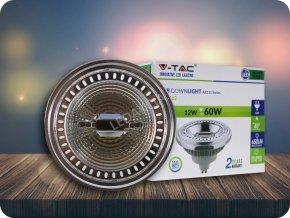 LED Strahler - AR111 12W GU10 Strahl 40 Sharp Chip (Farba Kaltweiß 6400K)