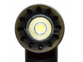23W LED Schienenleuchte Schwarz Gehäuse Rund (Farba schwarze Farbe)