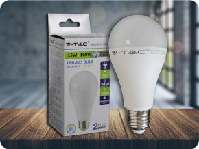 LED Glühbirne - 15W A65 Е27 200'D Thermo-Kunststoff (Lichtfarbe Kaltweiß)