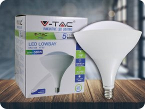 LED Glühbirne - SAMSUNG CHIP 85W E40 Low Bay Kunststoff 6400K (Lichtfarbe Kaltweiß)