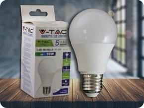 LED Glühbirne - SAMSUNG Chip 9W E27 A58 Kunststoff (Lichtfarbe Kaltweiß)