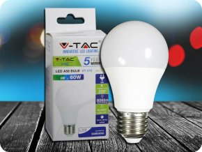 LED Glühbirne - SAMSUNG CHIP 9W E27 A58 Kunststoff 6400K (Lichtfarbe Kaltweiß)